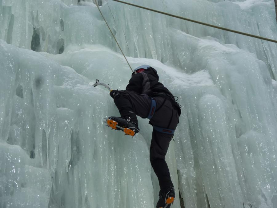Ice Climbing in NH