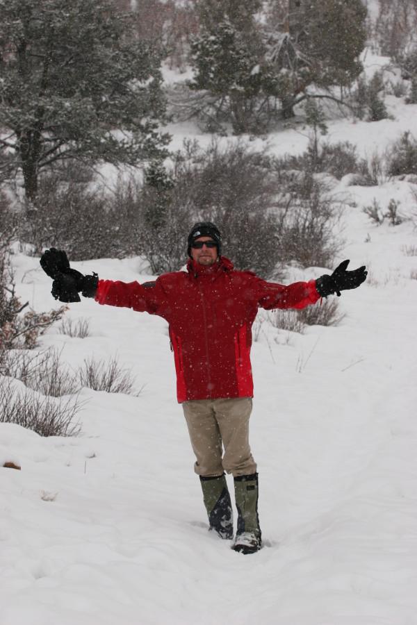 Sidewinder SV in Colorado Snow!