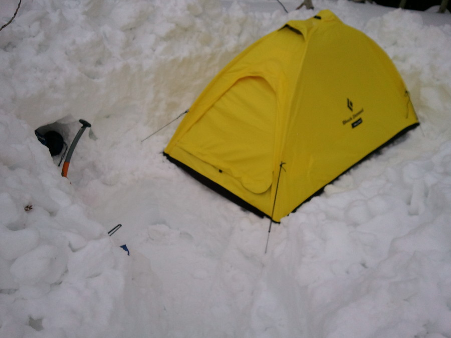 I-tent in the Wasatch
