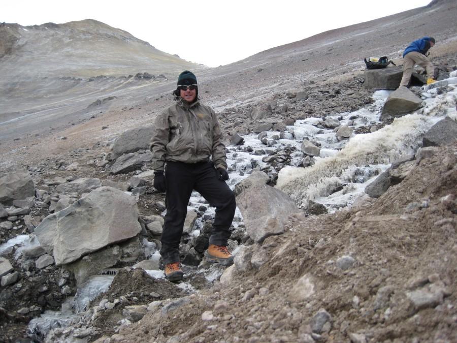 Aconcagua around 17000 ft