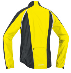 back of Yellow Contest Jacket