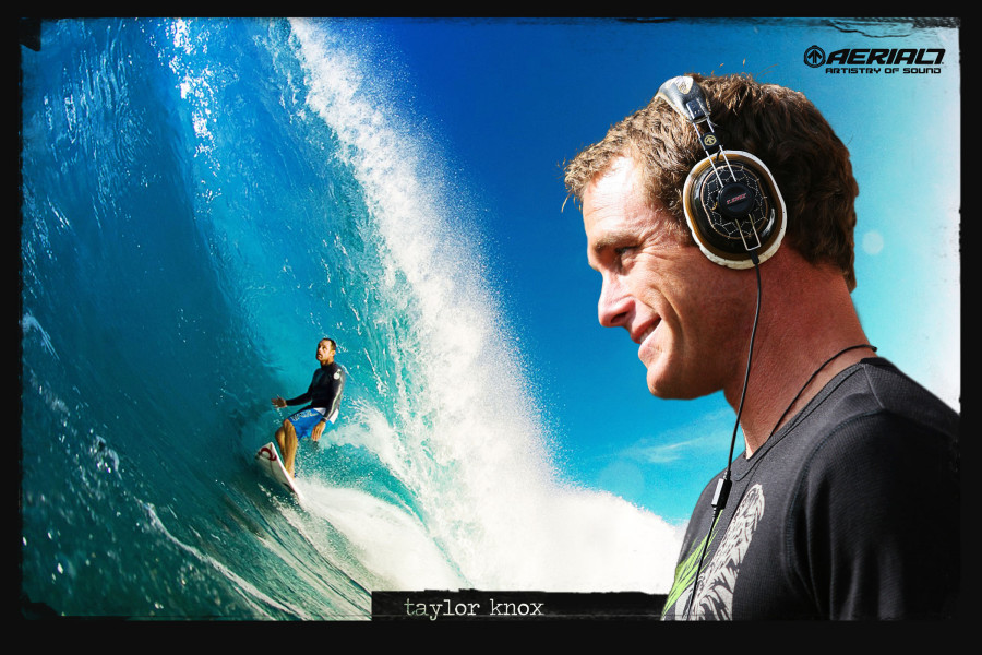 Taylor Knox wearing the T.Knox Chopper2 Headphones