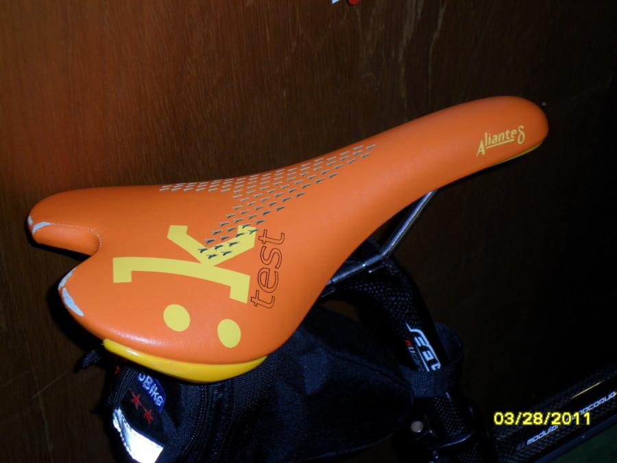 Fizik Aliante Gamma test saddle