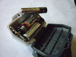 Storm battery compartment