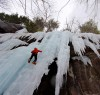 1st time ice climbing in my Gamma MX