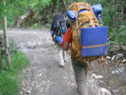 Philmont with Patagonia pants