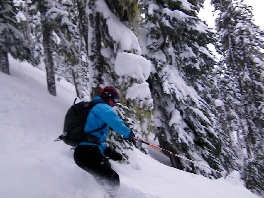 Skiing with the Traverse
