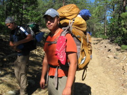 Osprey Argon 85 at Philmont