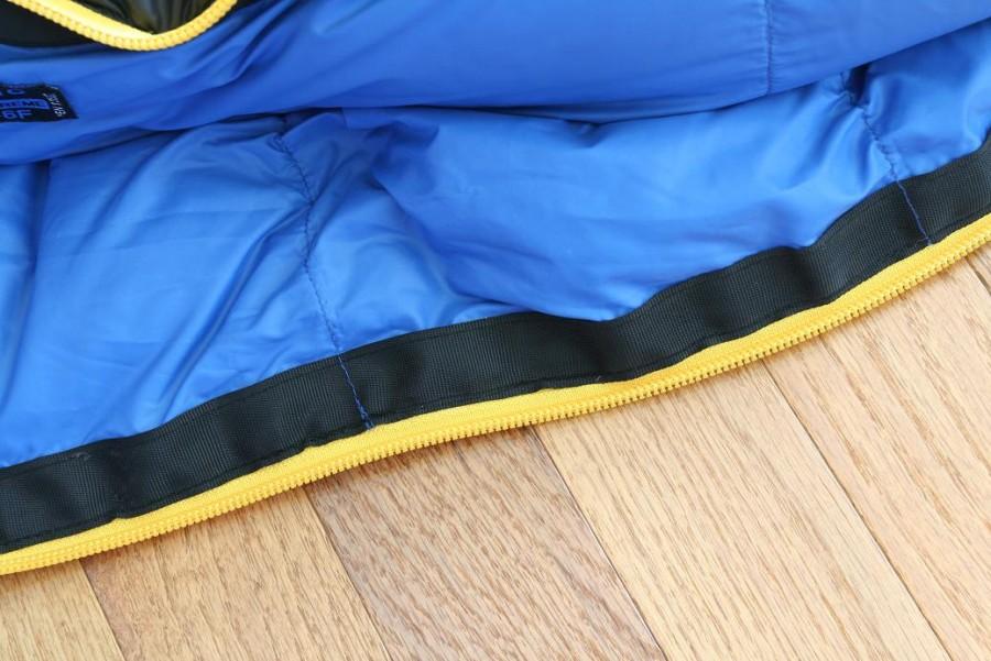 Inside zipper