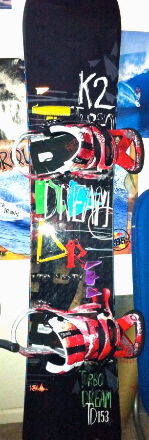 2011 Turbo Dream with Burton Cartels