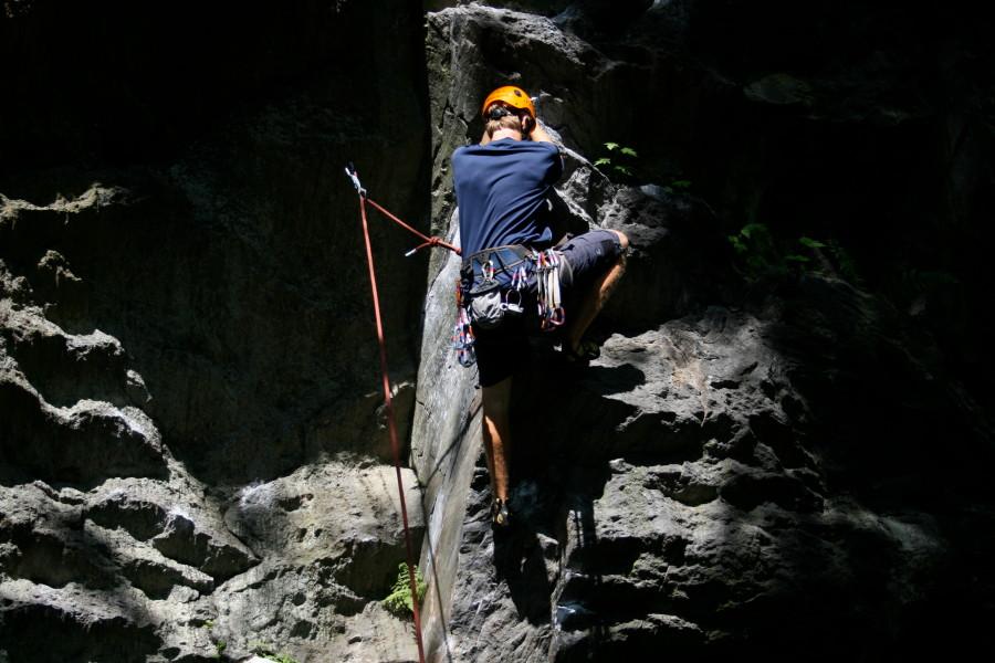 Climbing in NH