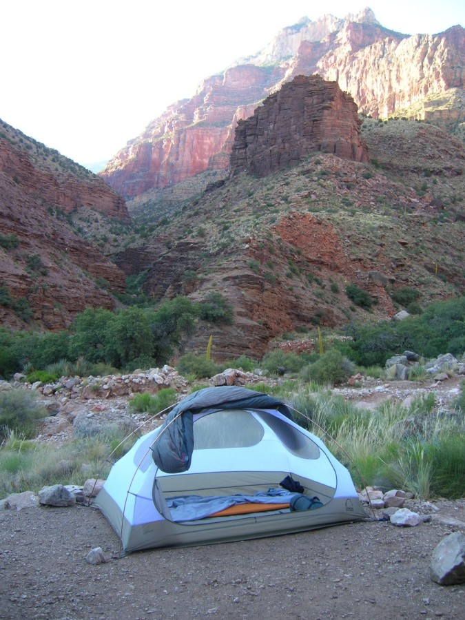 Backpacking the Grand Canyon - June 2008