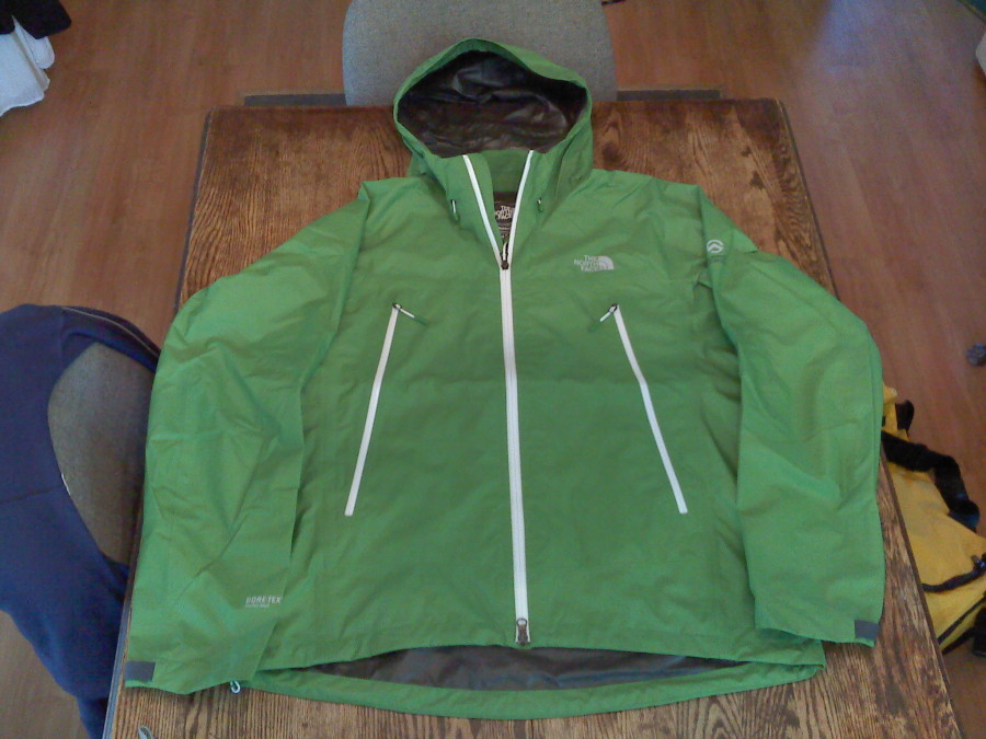 The North Face Blue Ridge Paclite Jacket in Island Grass Green