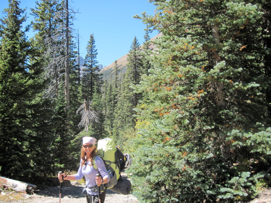 Three days in the Sangre de Cristo wilderness