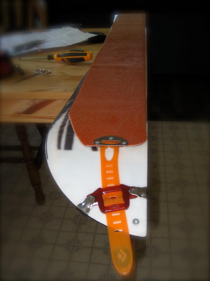 Great for Splitboards