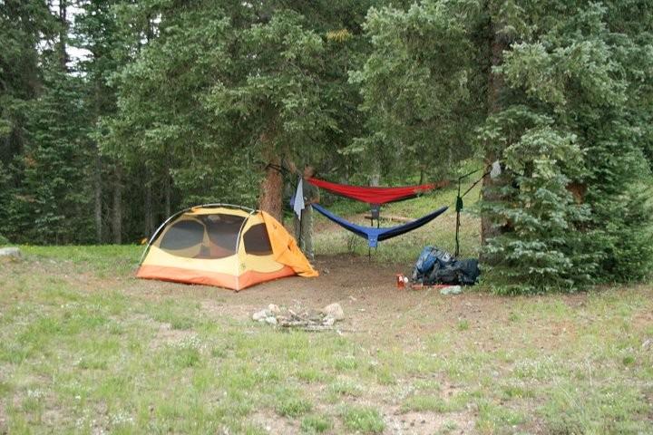 Camp at Flint Creek