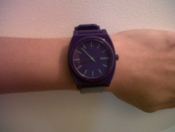Nixon Time Teller P Watch Purple