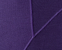 Purple fabric detail