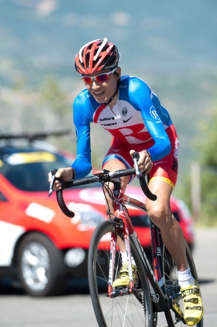Brajkovic takes his Fast Jackets uphill at the Tour of Utah