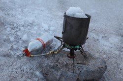 Backcountry Ti Cookset 700ml mug & spork