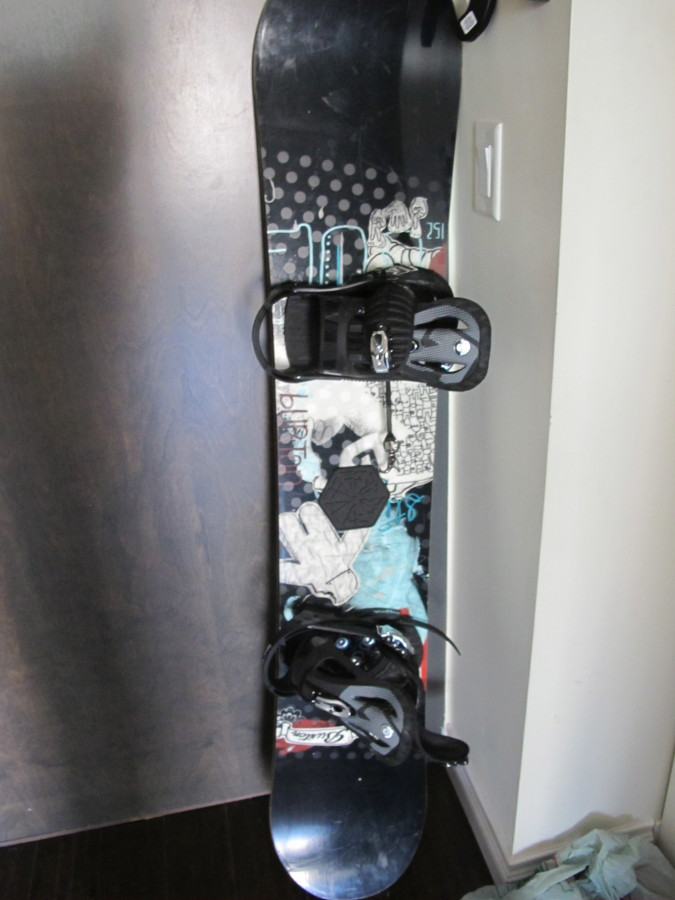 Hi. I have a burton snowboard from 2007...