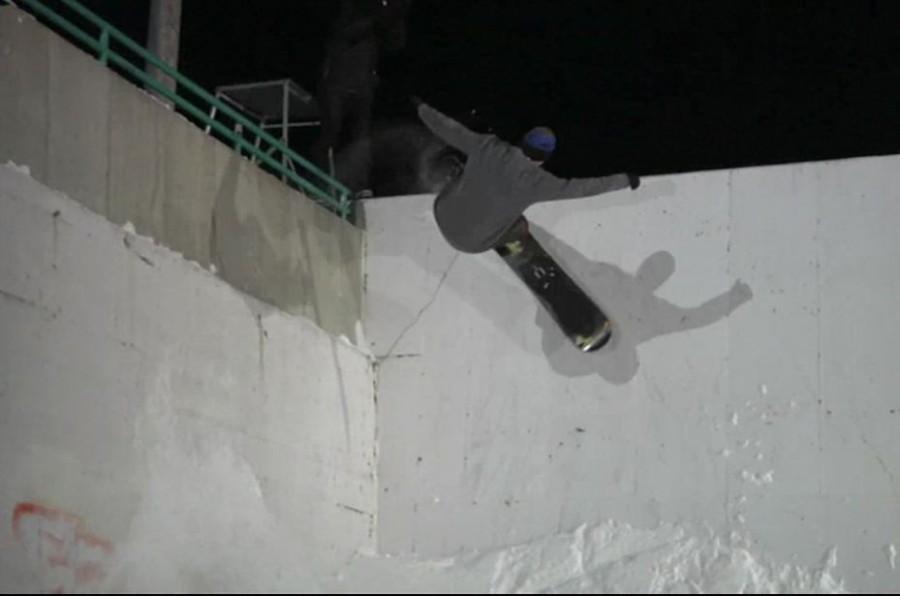 Standing Sideways - Burton Snowboards