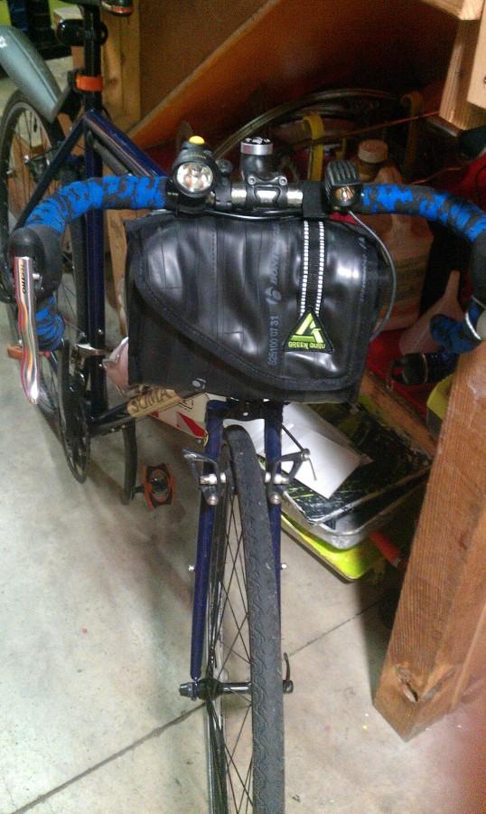 Cruiser Cooler on cross bike