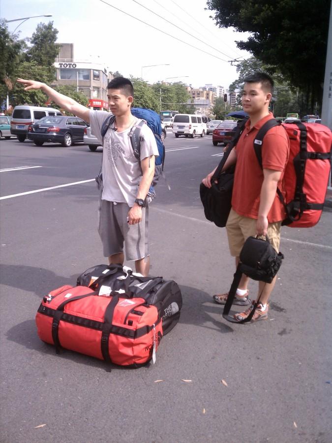 3 Large base camp duffels