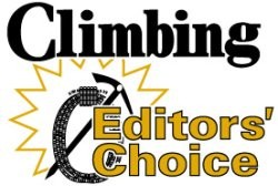 Climbers Magazine 2011 Editor's Choice Award