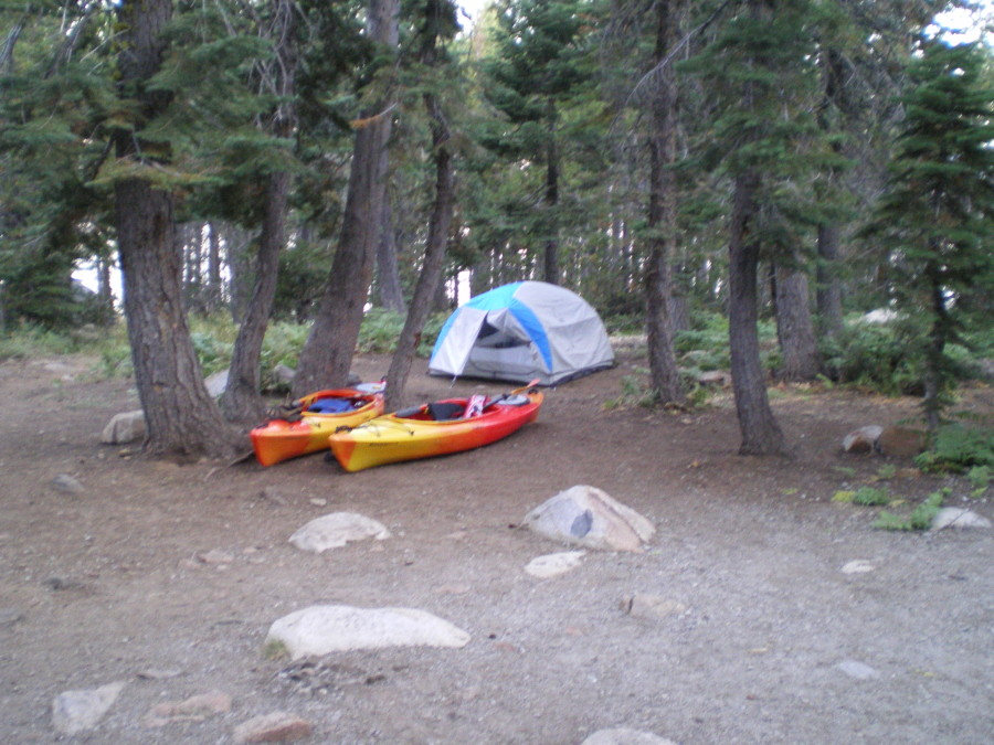 Zia 3 at Loon Lake, CA 9-29-11
