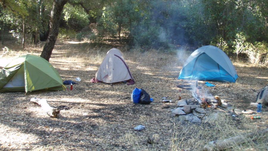 camp at 4600 feet still worm