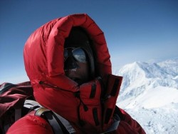 Self Portrait on the summit of Denali