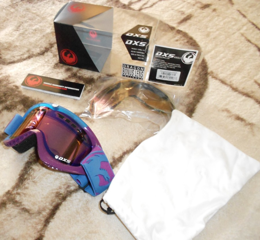 Blue/Purple Goggles