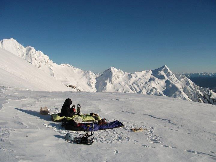 Ridge camp in Juneau AK