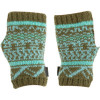 Matching Ignite Fair Isle Gloves in Olive