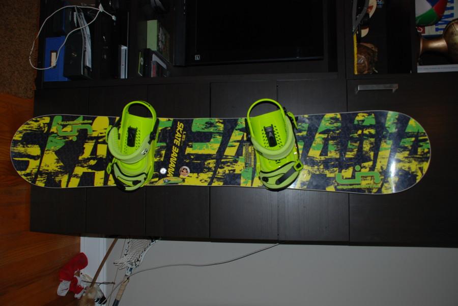 Acid Green Forces on Skatebanana