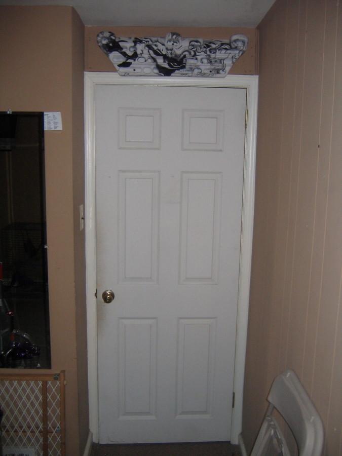 Over the door frame