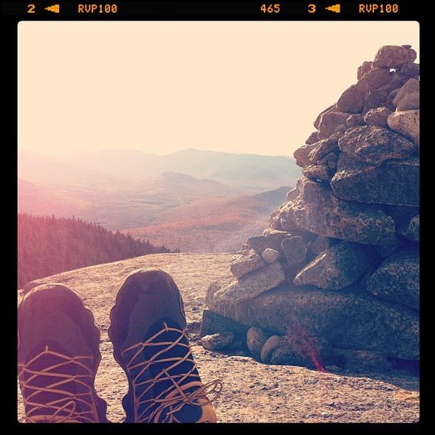 On top of Cascade Mountain