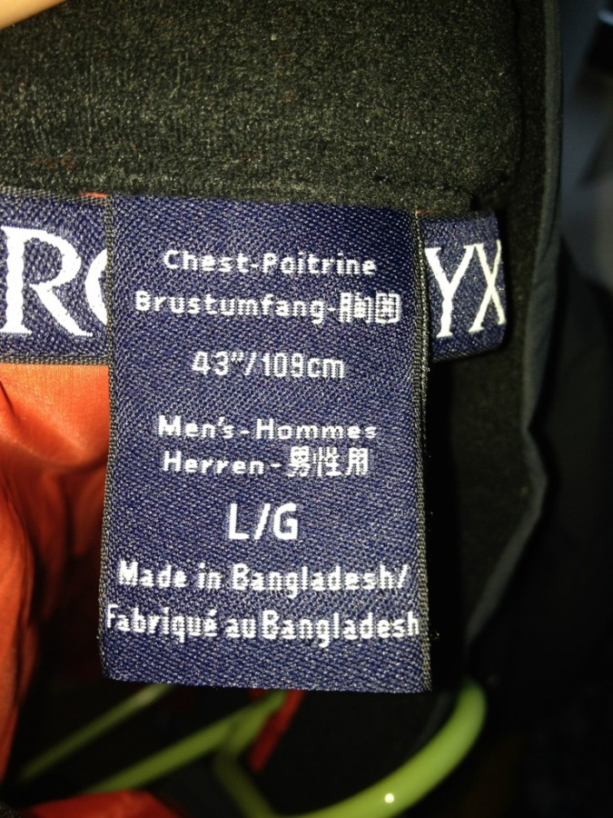 Tag,made in Bangladesh