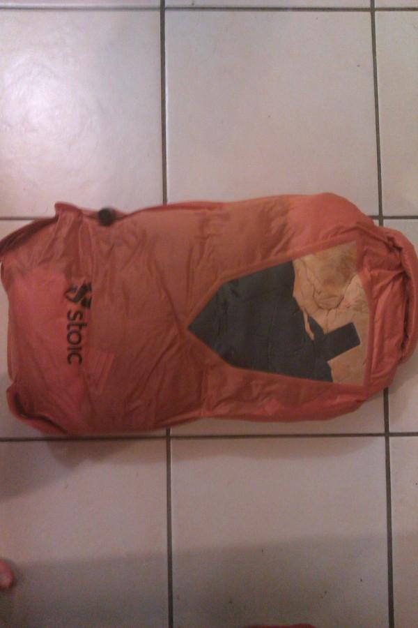 Compressed Kelty Cosmic Sleeping Bag: 0 Degree Down