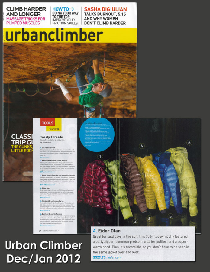 Eider Olan - Urban Climber, Dec/Jan 2011