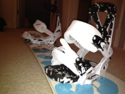 Sweet Bindings for my board