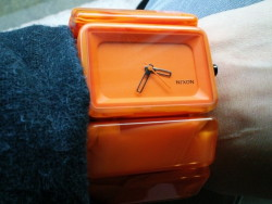 Nixon Ladies Vega in Marmalade