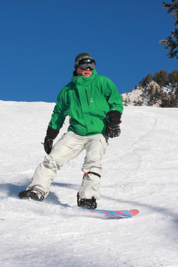 Riding in Snowbird