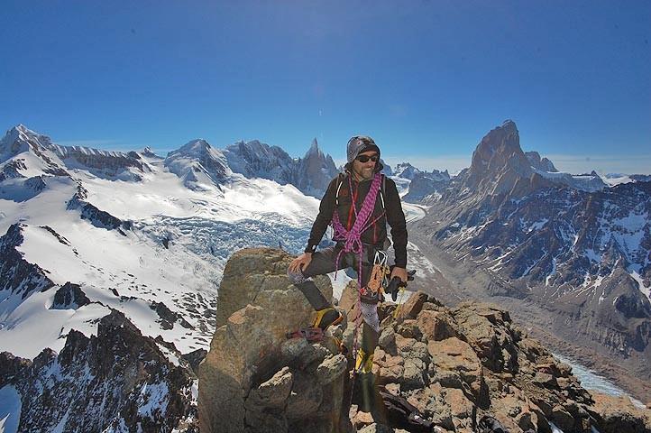 Cerro solo Patagonia