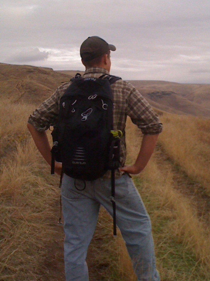 Hiking at Redbird