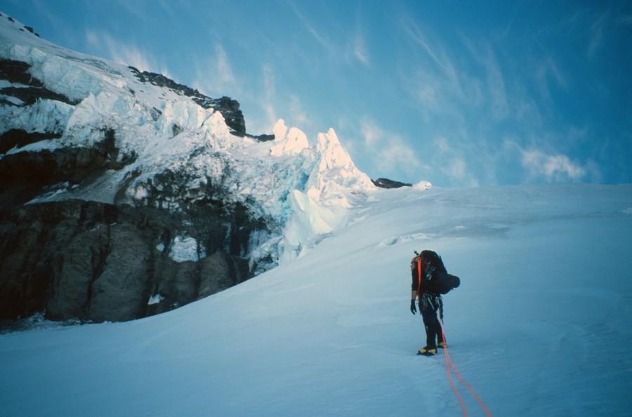 Climbing Mt. Rainier