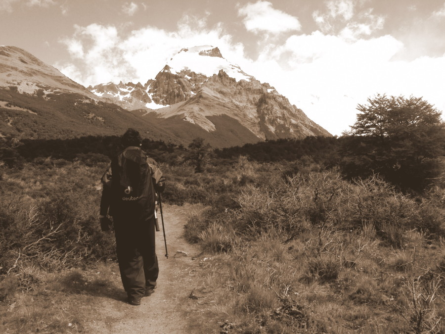 Cerro solo Patagonia view