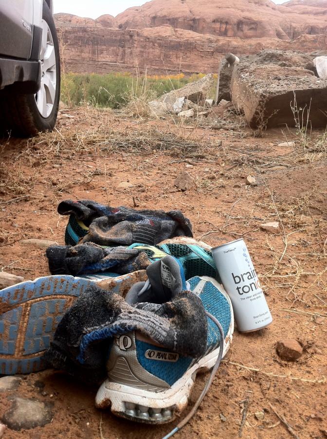 Trail runners' dream sock