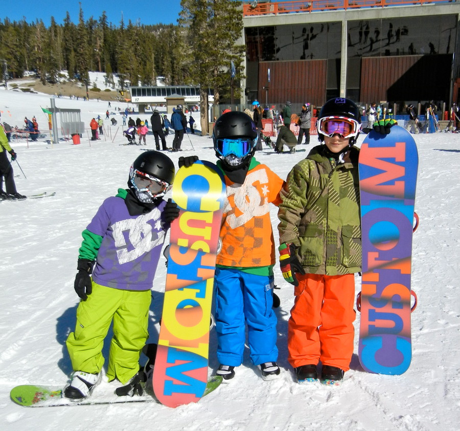 Boys in Mammoth